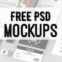 Free Photoshop PSD Mockup Templates (25 New MockUps)