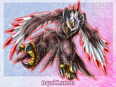 Digimon: Aquilamon by *Juctoo on deviantART