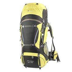 Amazon.com : Mountaintop Tyrannosaurus Outdoor Waterproof Hiking Climbing Backpack Tarn Blue 65L+10L : Sports & Outdoors