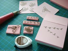 carving stamps DIY Stamps, Carving, Diy, Seals, Bricolage, Wood Carvings, Sculptures, Do It Yourself, Postage Stamps
