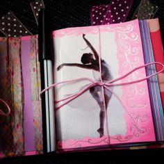 Mini Carpeta Doble Ballet