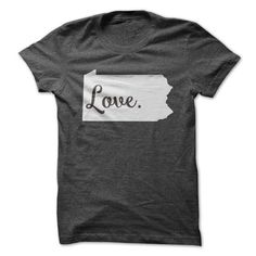 Love Pennsylvania T Shirts, Hoodies. Check Price ==► https://www.sunfrog.com/States/Love-Pennsylvania.html?41382