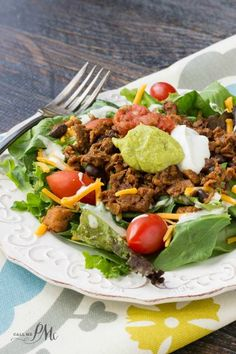 Southwest Salad with Chipotle Black Bean Crumbles a delicious and tasty salad recipe that easy to join the #VegAllegiance movement from MorningStar Farms