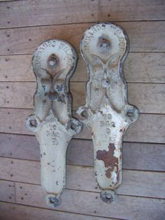 "2 ANTIQUE BARN DOOR ROLLERS 21"" INDUSTRIAL CAST IRON SAWMILL"
