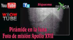 PIRAMIDE EN LA LUNA, FOTO NASA APOLO XVII