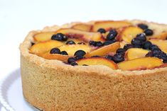When you want something special to do with all the peaches you could not resist buying; whip this up.
