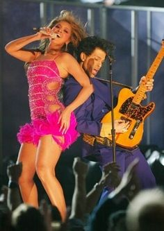 Beyonce and Prince 2004 Grammys Performance