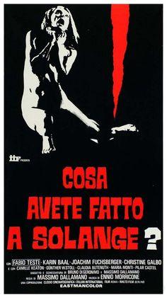Cosa avete fatto a Solange? - Massimo Dallamano, 1972