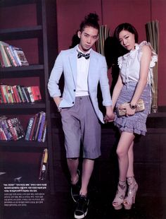 2AM Jo Kwon and Brown Eyed Girls Ga In - InStyle Weddings Magazine