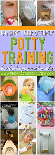 Potty training can be tricky. From accidents to night-wets to consistency to motivation, we have some of the best Potty Training Tips and Tricks on Frugal Coupon Living. Potty Training Hacks to help you and your toddler succeed.