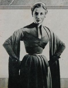 dress with stole, Beatrijs 1951