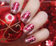 Nail Art - Merry Christmas