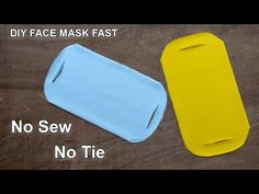 I have made a fabric face mask video tutorial. In this no sew face mask video, I have included the detail on h. Easy Face Masks, Homemade Face Masks, Diy Face Mask, Sewing Hacks, Sewing Tutorials, Sewing Patterns, Fabric Crafts, Sewing Crafts, Sewing Projects