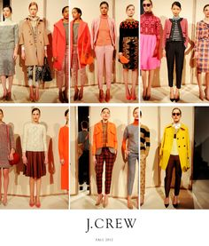 j. crew fall 2012. I dream of living in a j.crew catalog