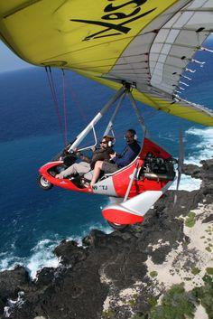Hang gliding. Bucket list!