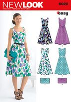 Dress Patterns - New Look Pattern Misses Dresses