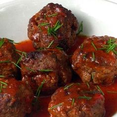 Meatballs in Tomato Sauce Veggie Recipes, Low Carb Recipes, Chicken Recipes, Veggie Food, South African Recipes, Ethnic Recipes, Special Recipes, Light Recipes, Tomato Sauce