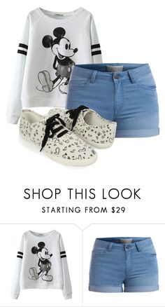 """Casual but cute"" by shinee-panda ❤ liked on Polyvore featuring Pieces and Forever 21"