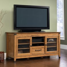 sauder registry row credenza atg stores - Sauder Tv Stands