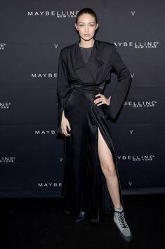 Gigi Hadid attends the Maybelline New York x V Magazine Party at the Nomo Soho Hotel on February 11 2018 in New York City