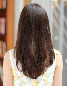 Hair Inspo, Hair Inspiration, Medium Long Hair, Mid Length Hair, Hair Color For Black Hair, Brunette Hair, Hair Hacks, Hair Lengths, Hair Goals