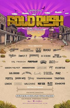 Goldrush Digs Deep On Second Round Lineup For Third Annual Festival, September 27 And 2019 Don Diablo, Alison Wonderland, Lil Skies, Trippie Redd, Old Singers, Dig Deep, Saddest Songs, Relentless, Dance Music