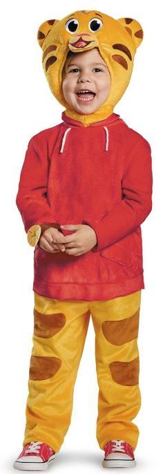 Deluxe Toddler Daniel Tiger Costume from Buycostumes.com
