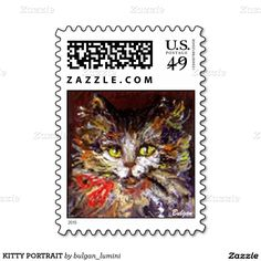 KITTY PORTRAIT STAMPS