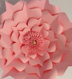 Princess Paper Flower Backdrop-Large Paper by LavishInspirations