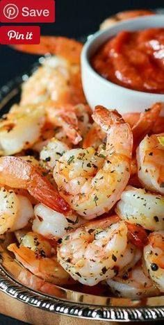 Garlic Herb Roasted Shrimp with Homemade Cocktail Sauce 15 mins to make makes 3-4 cups of shrimp - Ingredients Gluten free Paleo Seafood 2 lb Shrimp Produce 1 tsp Basil dry 3 Garlic cloves Condiments 2 heaping tbsp Horseradish cup Ketchup Baking & Spices tsp Red pepper flakes 1 Salt & pepper Oils & Vinegars 4 tbsp Olive oil