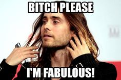 Jared Leto. I LOVE him it kills me that hes over forty .. and im clearly not ... see my dilemma