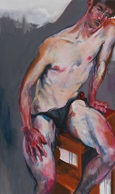 Galerie Thomas Fuchs Rainer Fetting ILKO Acrylic on canvas x in. Tom Of Finland, Paintings Famous, Modern Art Paintings, Oil Paintings, Black Art Painting, Figure Painting, Rainer Fetting, Disney Concept Art, Cool Art Projects