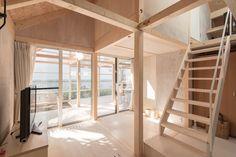 yoshichikatakagi-+-associates-house-in-shinkawa-japan-designboom-02 Timber House, Wooden House, Two Storey House, Wood Architecture, Energy Efficient Homes, Sapporo, Wood Interiors, Japanese House, Story House