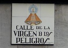 Signboard, Madrid, Spain by balavenise, via Flickr