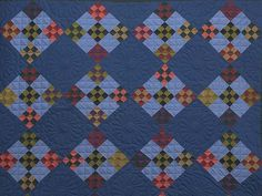 Amish Double Nine Patch Quilt