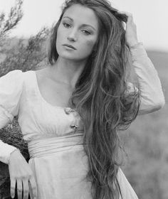 English actress Jane Seymour pictured in character as Mary Yellan during filming of the television movie, 'Jamaica Inn'