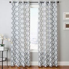 Encore Burnout Sheer Panel with Grommets