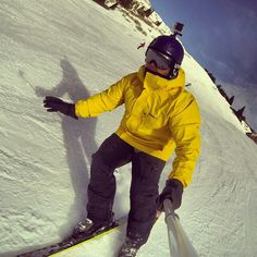 Gopole reach. Skiing with my gopro cameras. Check out my Blog http://gogi - cam.blogspot.de  #gopole #gopro
