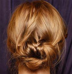 Marchesa Bridal Hair Spring 2015 DIY - Wedding Hair How-to