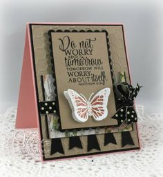 Card by Julee Tilman using Each Day from Verve Stamps.  #vervestamps