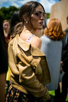 Street style at Paris Couture Week Fall 2017