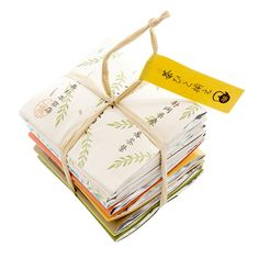 An elegant strong-tied parcel of ten paper-sealed Shizuoka-grown loose green teas and teabags. The perfect Japanese green tea variety taster!
