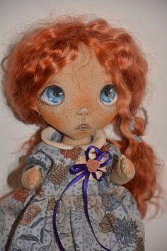 Art doll Cloth art doll Cloth doll OOAK doll by CONFETTIdiPEZZA
