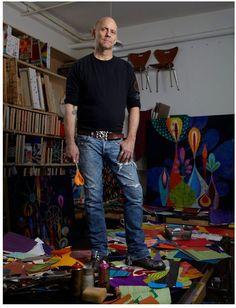 Rex Ray - Just heard that Rex Ray died earlier this year A great sense of colour & form. Art Blog, Artist Art, Installation Art, Artist Inspiration, Artist Studio, Artist Sketchbook, Collage Art, Art Business, Art History