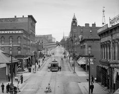 Marquette, Michigan | Home // Print // Front Street, Marquette, Michigan