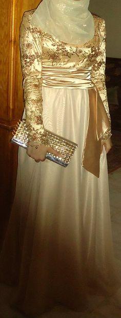 #Hijab Evening Dress.
