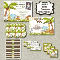 zoo party printables