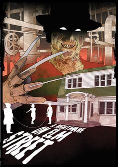 A Nightmare on Elm Street by James Fenwick for Cult Cinema Sunday