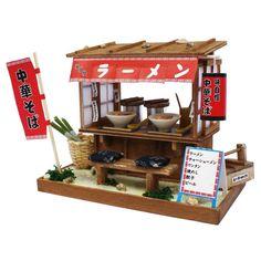 New Billy Ramen Food Cart 1/12 Doll House Model Kit Figure Doll Miniature Figma