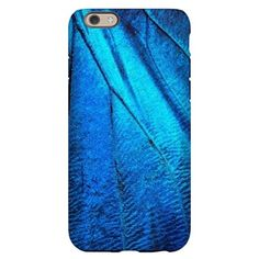 Exotic Blue Butterfly Wing Macr iPhone 6 Slim Case